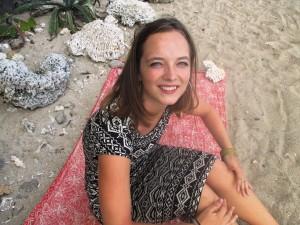 Jasmine on the beach in Saint Pierre