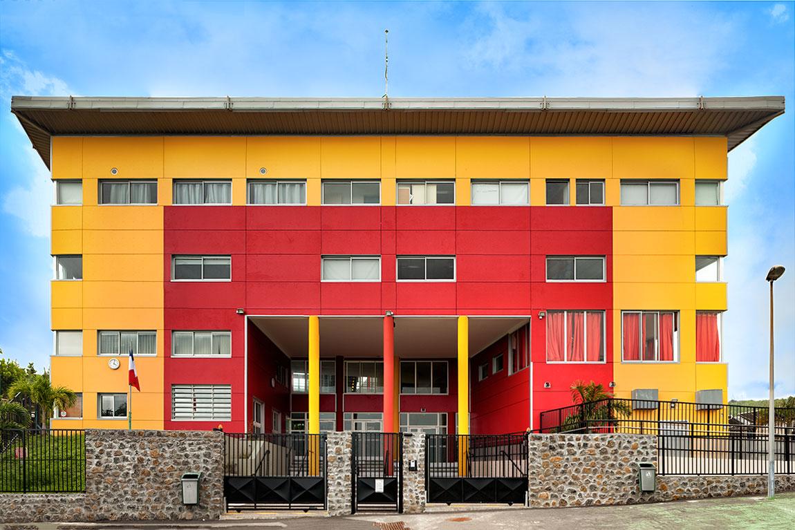 Facade du lycée Vincendo